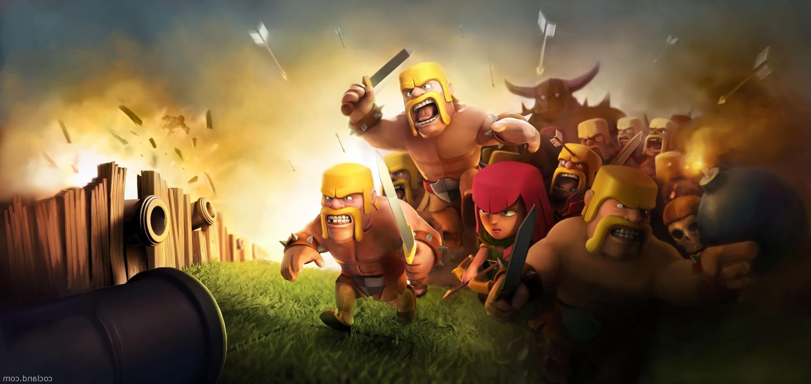 Clash Of Clans Wallpaper For Android Free Download Staterenew